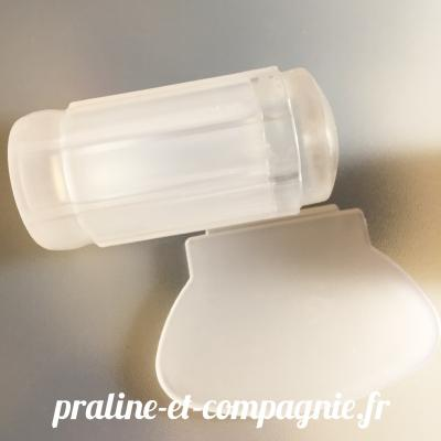 Tampon Jelly Transparent - blanc