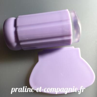 Clear Jelly Stamper - purple
