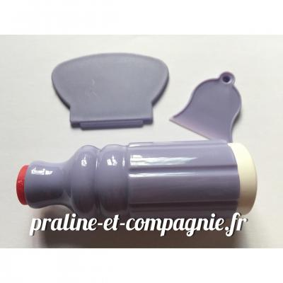 Kit tampon et raclette pour stamping - parme